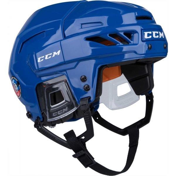 Modrá hokejová helma CCM - velikost S
