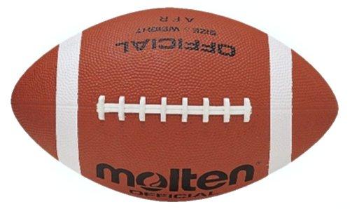 Hnědý gumový míč na americký fotbal MOLTEN AFR, Molten