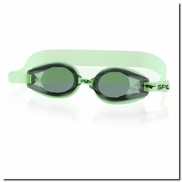 Zelené plavecké brýle 1200 AF, SPURT