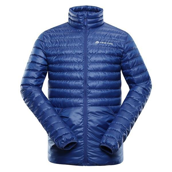 Modrá peřová pánská bunda Alpine Pro