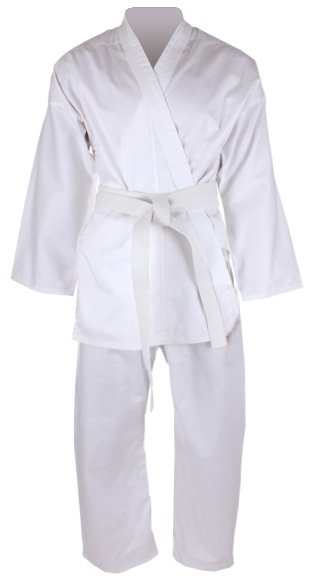Bílé kimono na karate