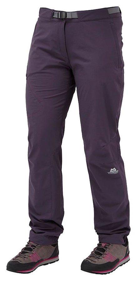 Fialové softshellové dámské turistické kalhoty Mountain Equipment