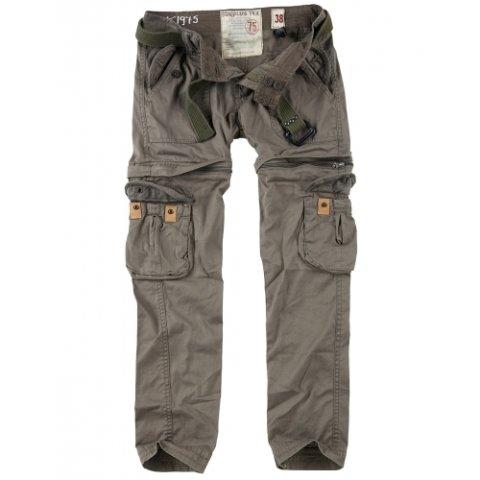 Kalhoty - Kalhoty dámské TREKKING PREMIUM ZELENÉ