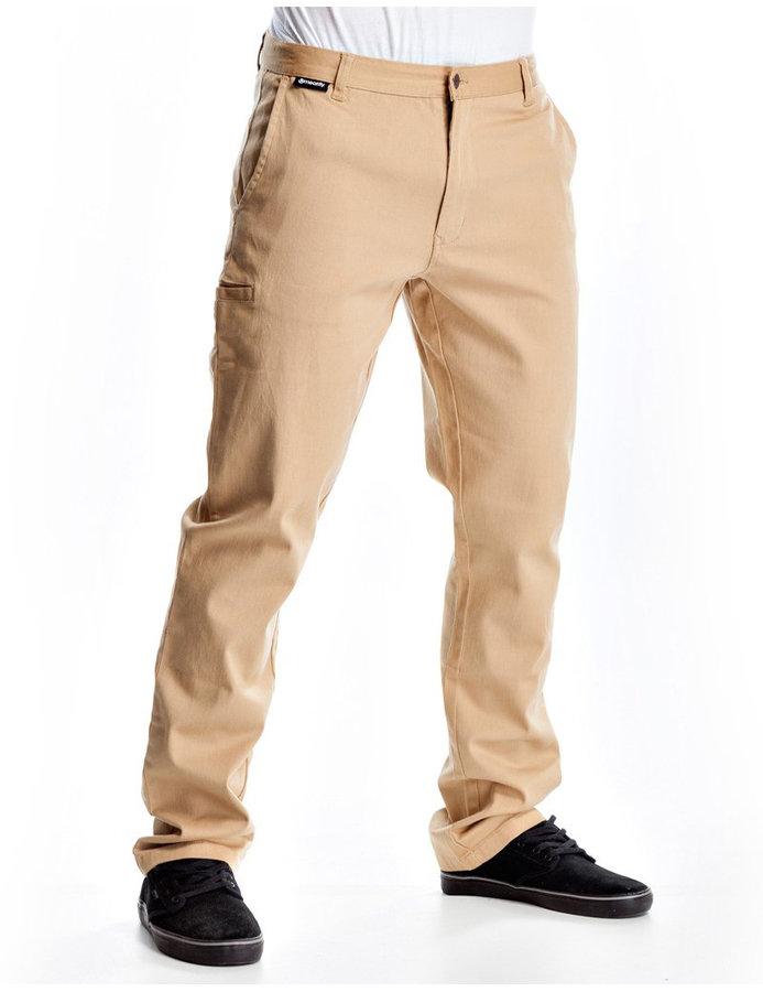 Kalhoty - Meatfly Chino 16 C-sand Velikost: 32