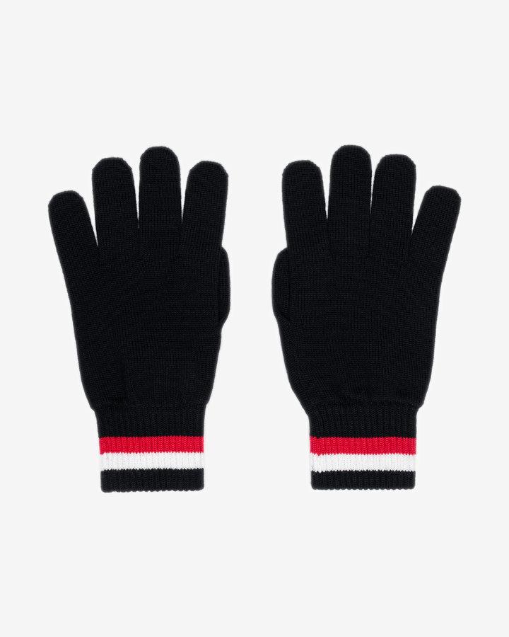 Modré pánské zimní rukavice Tommy Hilfiger