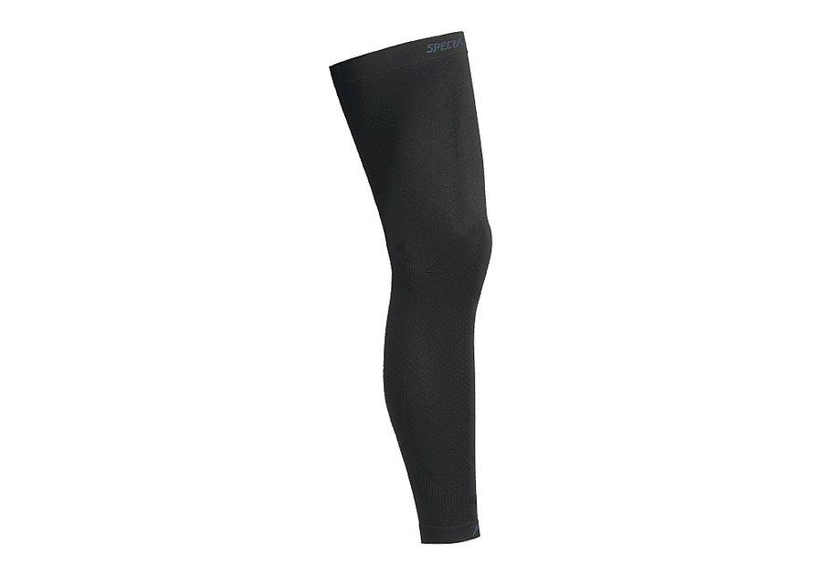 Černé cyklistické návleky na nohy Specialized