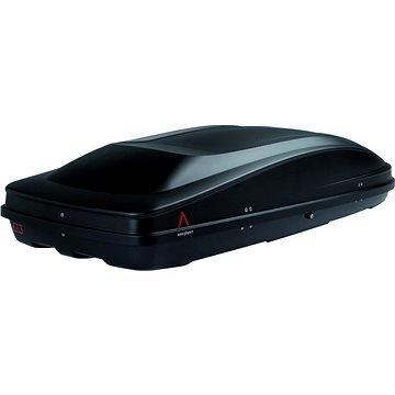 Černý střešní box G3 - délka 195 cm a šířka 73,8 cm