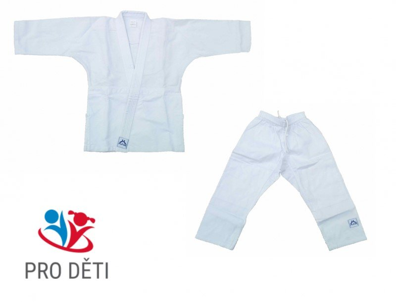 Bílé kimono na judo Mifune