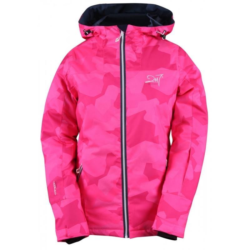 Růžová dámská lyžařská bunda 2117 of Sweden - velikost 34