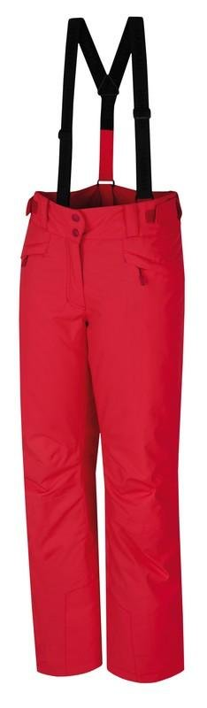 Červené dámské lyžařské kalhoty Hannah - velikost 34