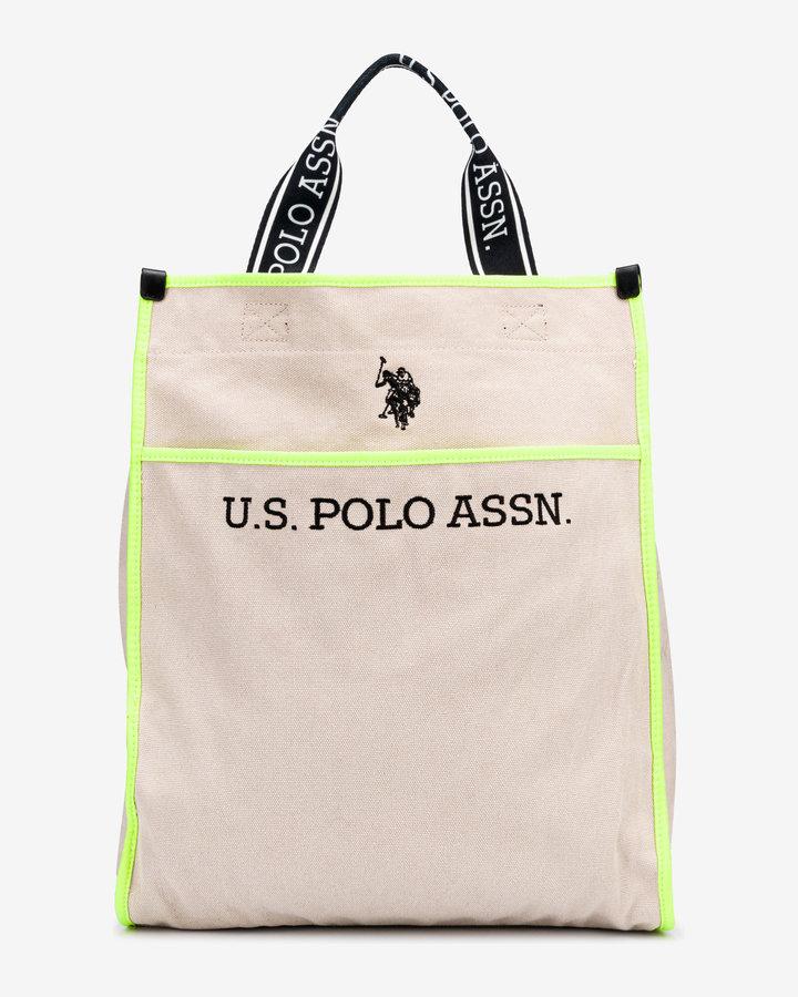 Žlutá dámská kabelka U.S. Polo ASSN