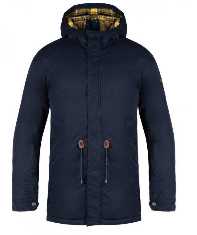 Modrý zimní pánský kabát Loap