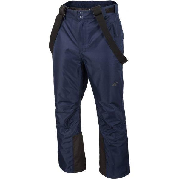 Modré pánské lyžařské kalhoty 4F