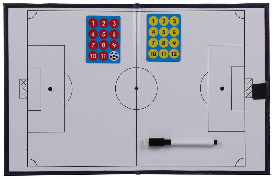 Fotbalová trenérská tabule Merco - délka 42 cm a šířka 27 cm
