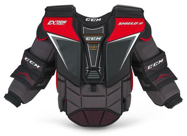 Brankářská hokejová vesta (senior) EXTREME FLEX SHIELD II, CCM - velikost M