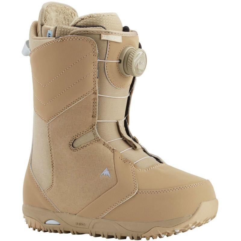 Béžové boty na snowboard Burton - velikost 41,5 EU