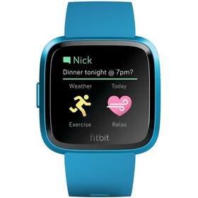 Modré chytré hodinky Versa Lite, Fitbit