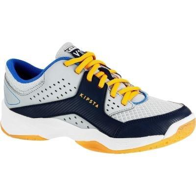 Modro-šedé chlapecké boty na volejbal ALLSIX