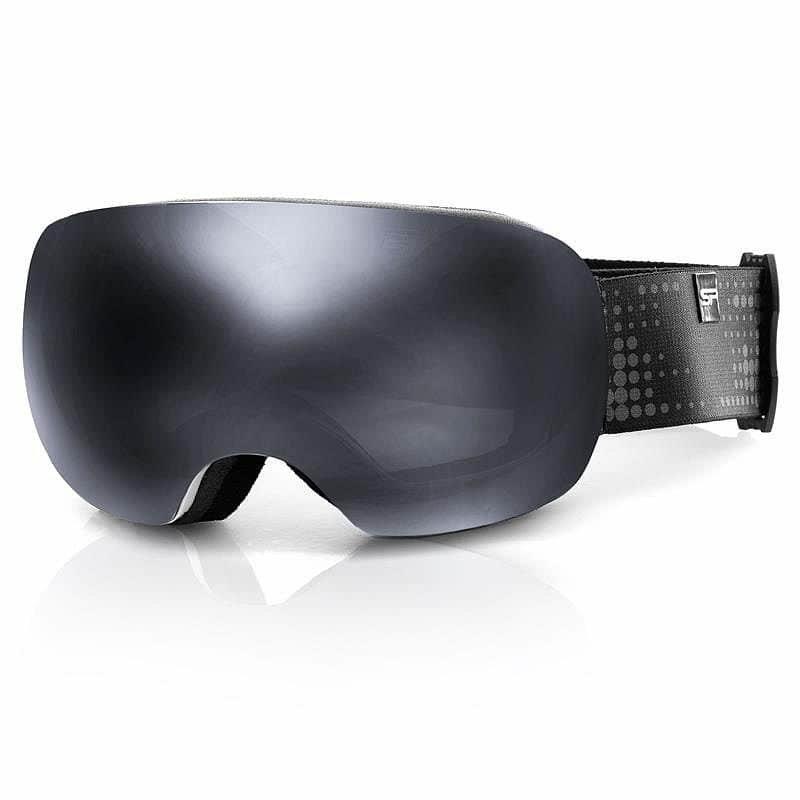 Šedé lyžařské brýle Spokey