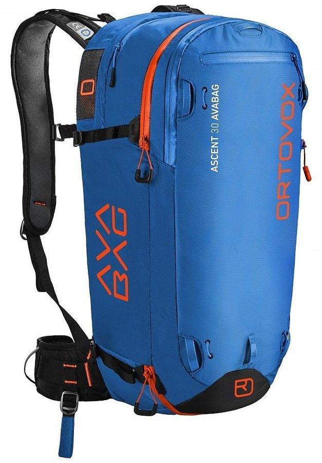 Modrý lavinový skialpový batoh Ortovox - objem 30 l