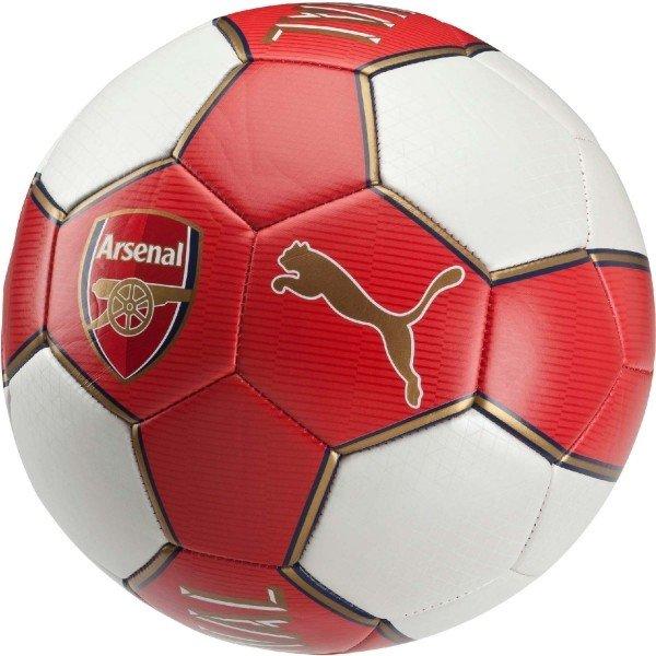 Bílo-červený dětský fotbalový míč Puma