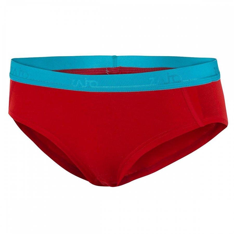 Červené merino dámské kalhotky Zajo