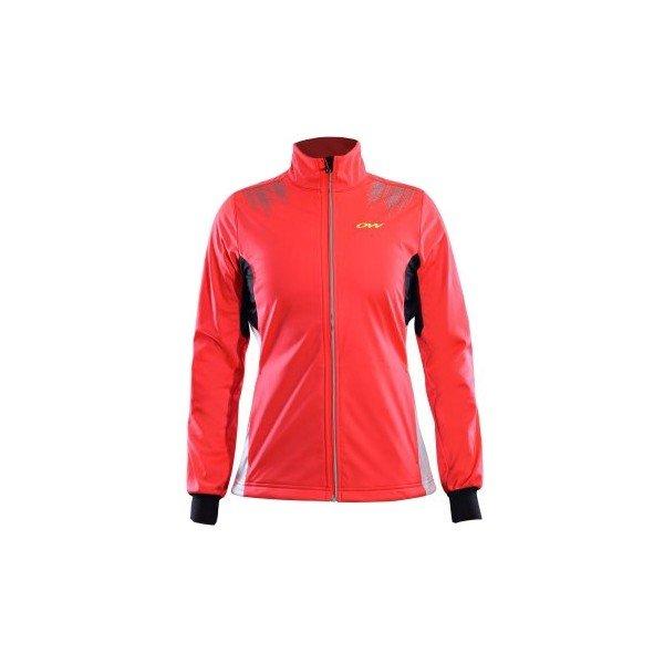 Červená dámská bunda na běžky One Way