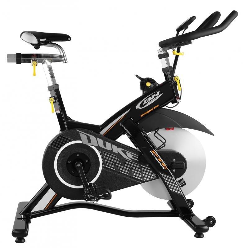Magnetický cyklotrenažér DUKE, BH Fitness - nosnost 135 kg
