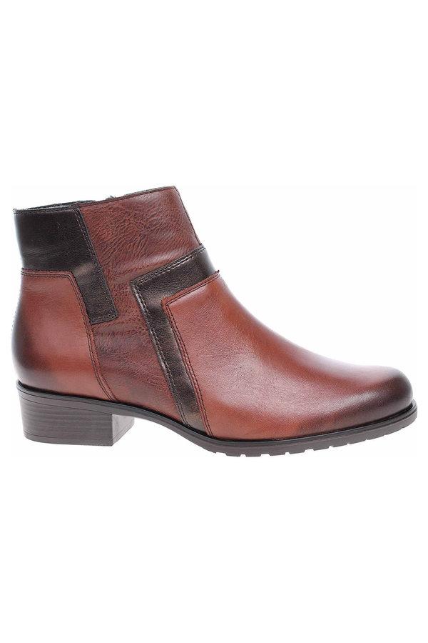Hnědé dámské zimní boty Remonte