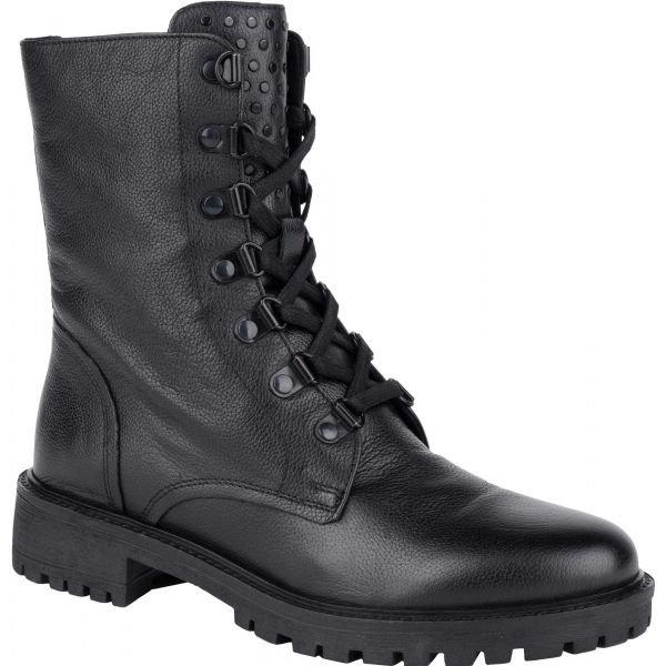 Černé dámské zimní boty Geox