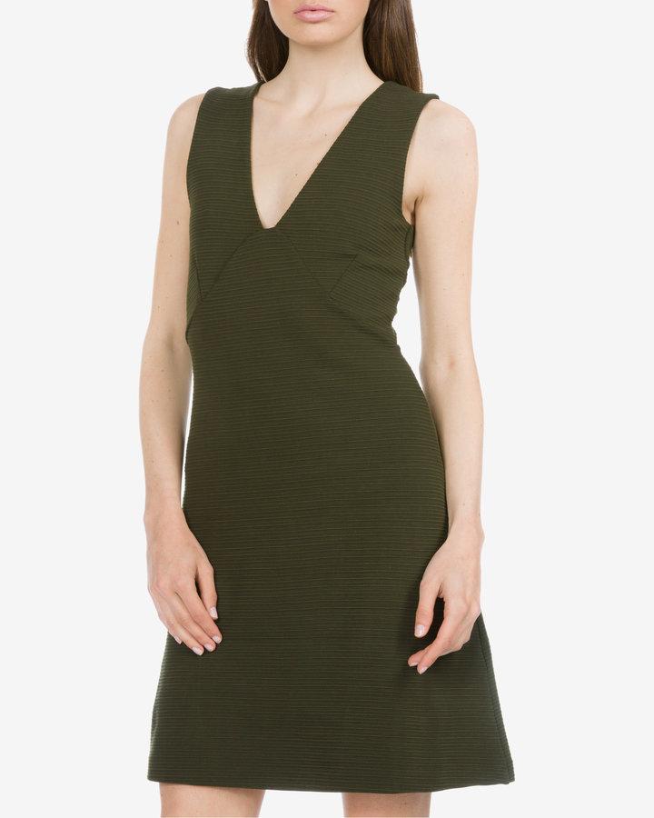 Zelené dámské šaty French Connection - velikost XXS