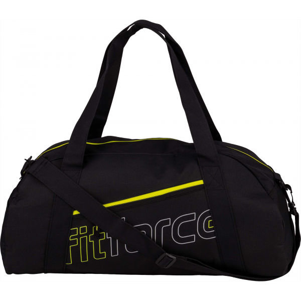 Černá dámská sportovní taška Fitforce - objem 27 l
