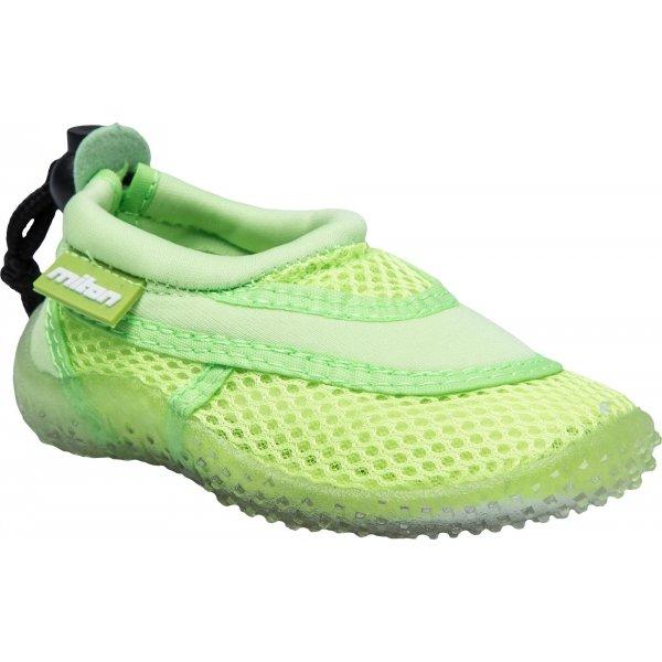 Zelené dětské boty do vody Miton