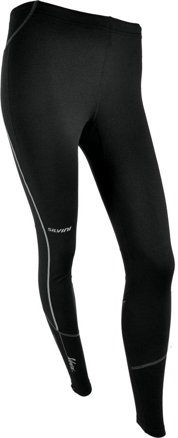 Zimní dlouhé dámské cyklistické kalhoty s vložkou Silvini - velikost S