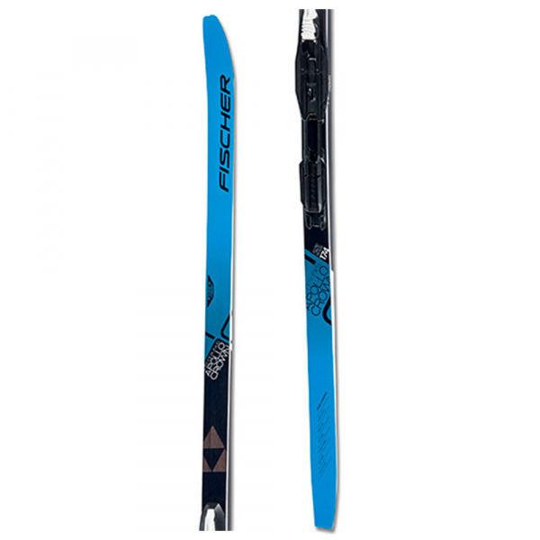 Černo-modré pánské běžky s vázáním Fischer - délka 189 cm