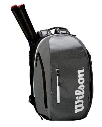 Tenisový batoh - Wilson Super Tour Backpack 2019 šedý