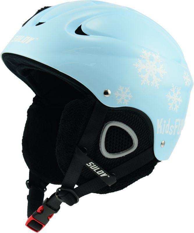 Modrá dětská lyžařská helma Sulov - velikost 53-56 cm