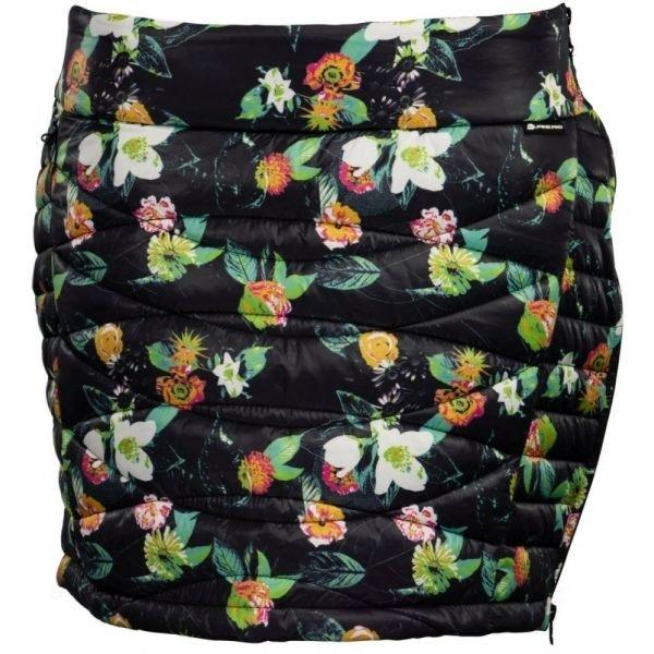 Černá zimní dámská sukně Alpine Pro