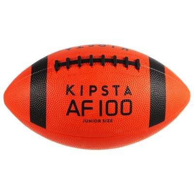 Černo-oranžový míč na americký fotbal Af100B, Kipsta