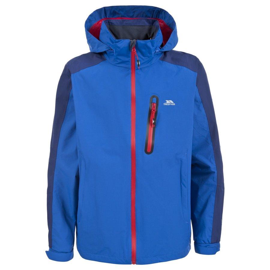 Modrá nepromokavá pánská bunda Trespass - velikost S