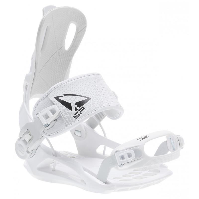Bílé vázání na snowboard SP - velikost 36-39 EU