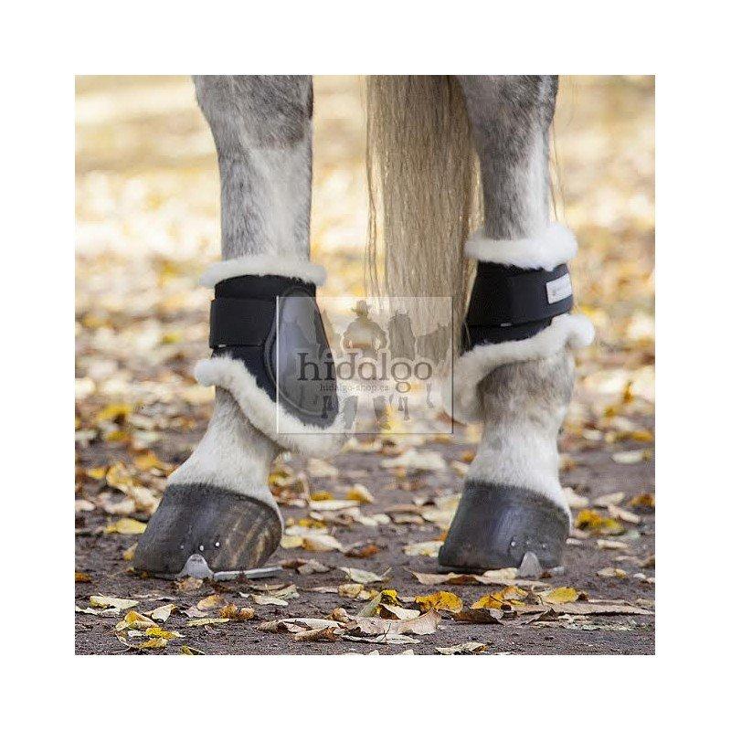 Černé strouhačky pro koně Waldhausen - full