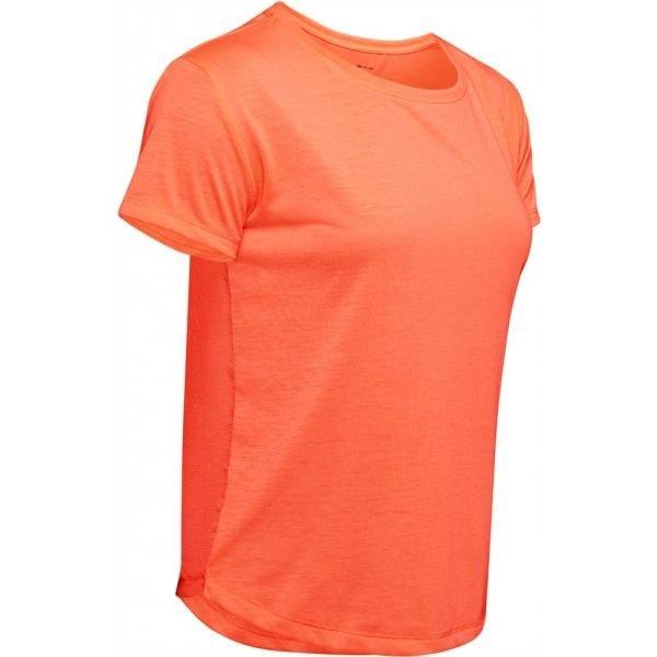 Oranžové dámské tričko s krátkým rukávem Under Armour