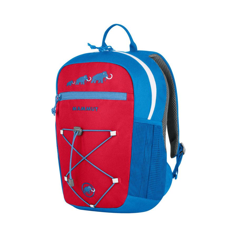 Červeno-modrý dětský sportovní batoh First Zip, MAMMUT - objem 8 l