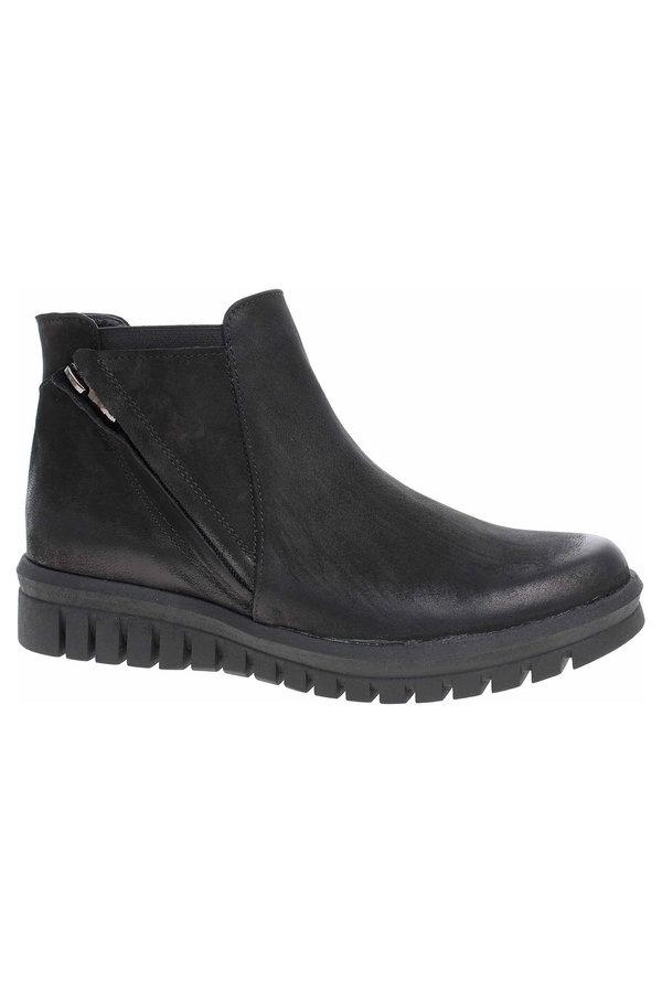 Černé dámské zimní boty Hujo - velikost 39 EU