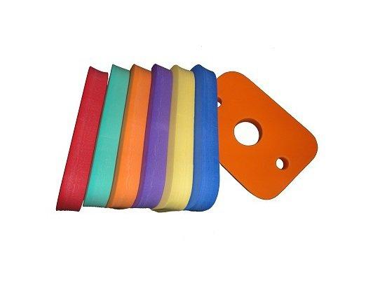 Pěnová plavecká deska Dena - délka 20 cm, šířka 30 cm a tloušťka 3,8 cm