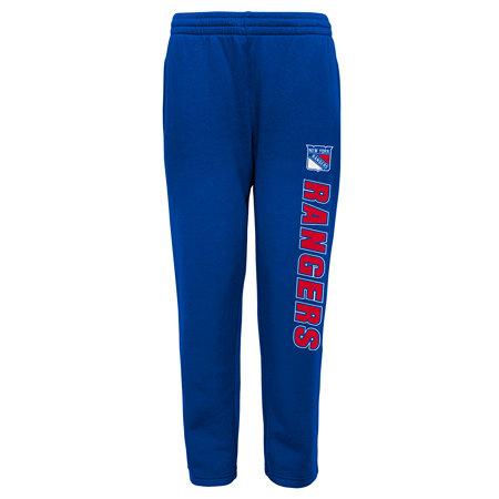 """Modré dětské chlapecké tepláky """"New York Rangers"""", Adidas"""