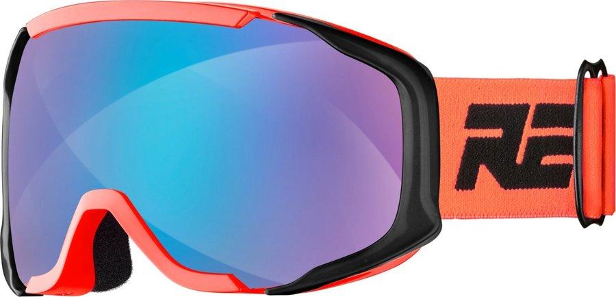 Oranžové dětské lyžařské brýle Relax