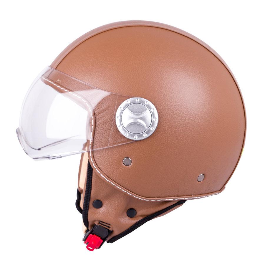 Helma na motorku FS-701B, W-TEC - velikost 55-56 cm