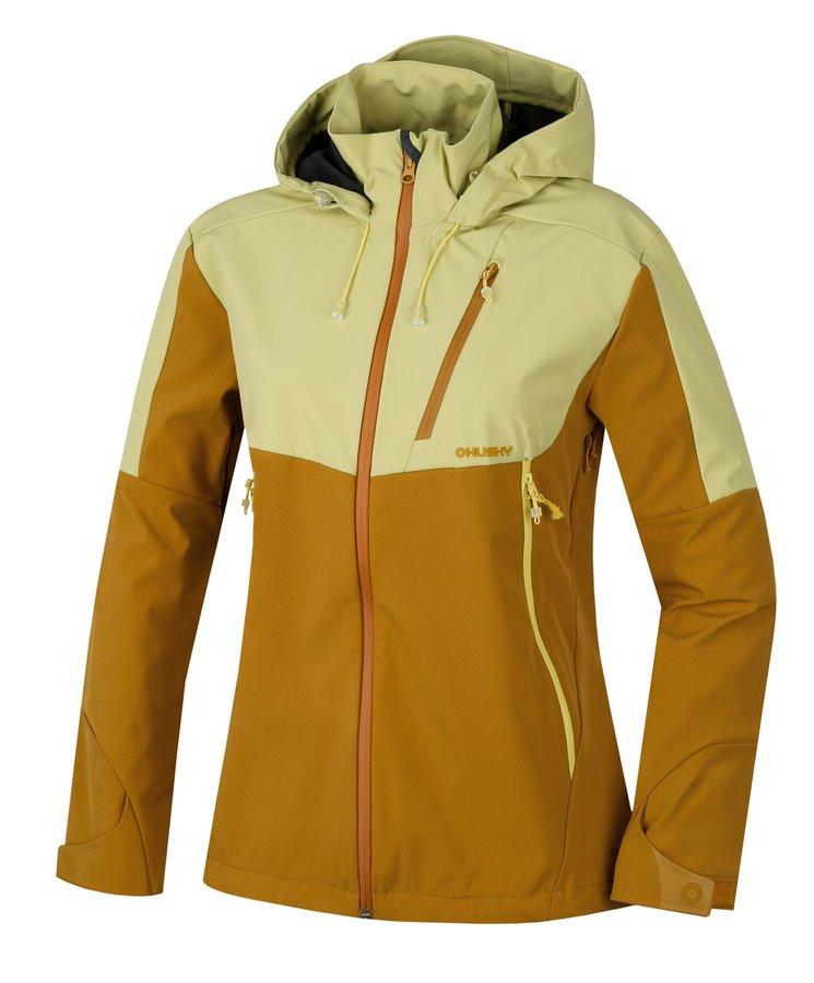Žlutá dámská bunda Husky